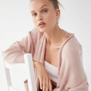 Light-Pink Open-Front Cardigan, NWT